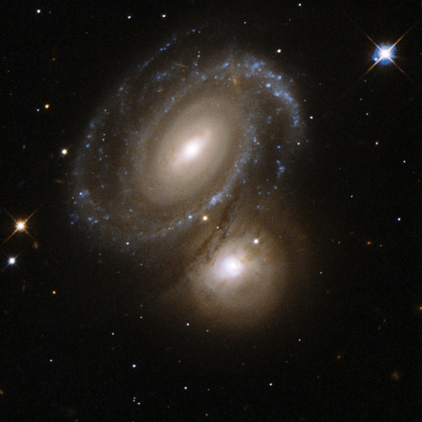 Hubble Interacting Galaxy AM 0500 620 2008 04 24
